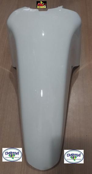 Paralama Dianteiro Para Moto Honda Biz 125 Branco 2013
