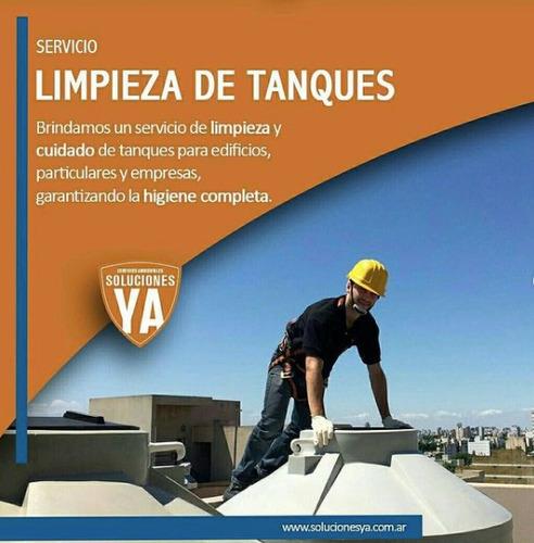 Imagen 1 de 10 de Limpieza De Tanques, Fumigacion Plagas Y Desinfeccion