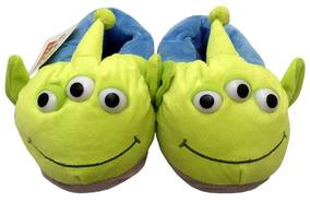 Pantufa Infantil 3d Alien Toy Story Disney Tamanho 30/31