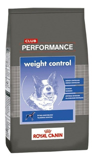 Alimento Royal Canin Club Performance Weight Control perro adulto 15kg