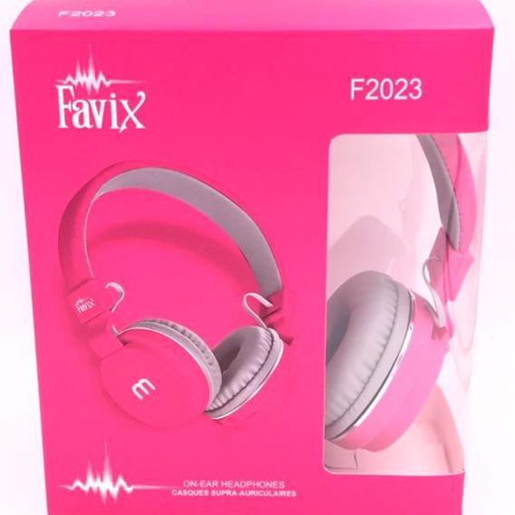 Fone De Ouvido Headphone Favix F2023 Original