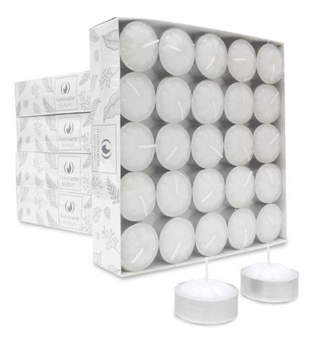 Velas De Noche, 1 Pack X 50 Velas Con 50 Con Latitas