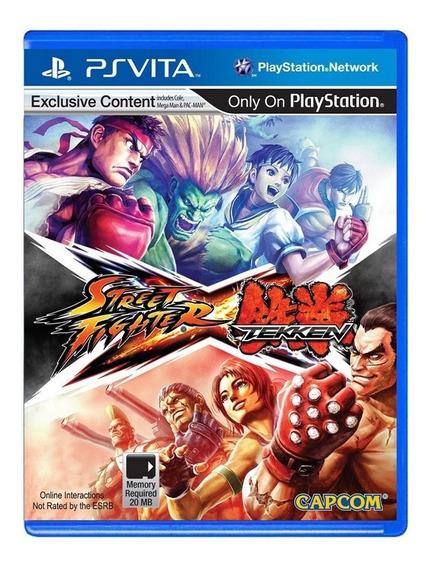 Street Fighter Vs Tekken - Ps Vita - Usado - Original