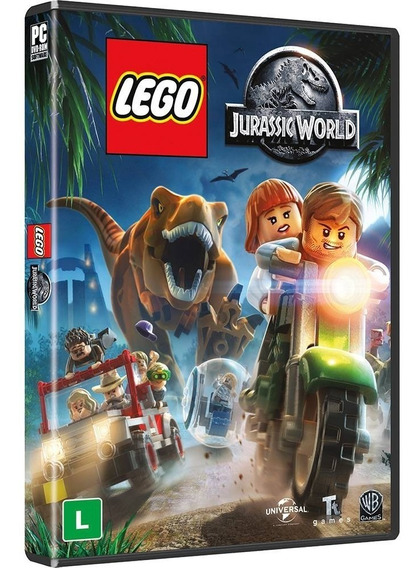 Game Pc Lego Jurassic World - Original - Novo - Lacrado