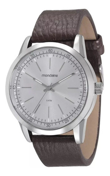 Relógio Masculino Mondaine Pulseira De Couro 94985g0mvnh3