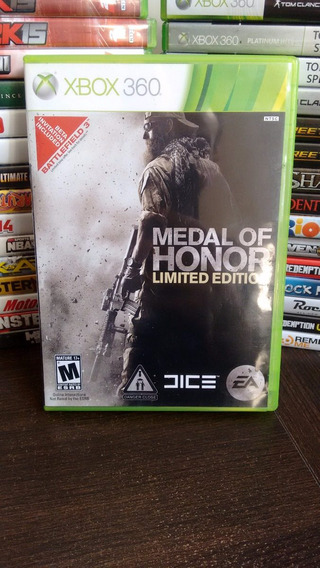 Medal Of Honor Limited Edition Xbox 360 Frete R$ 12