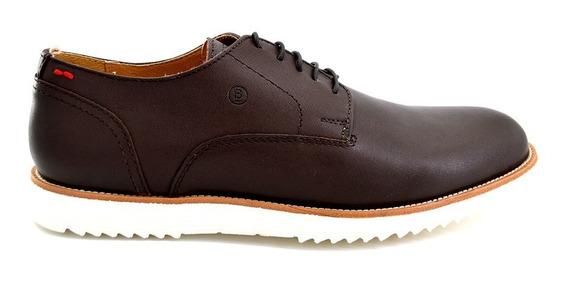 Zapato Casual Brantano Para Hombre 1503 Café [btn24]