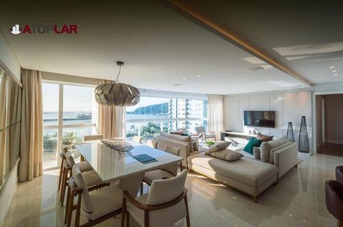 Apartamento Com 4 Suítes À Venda, 181 M² Por R$ 2.690.000 - Centro - Itajaí/sc - Ap0686