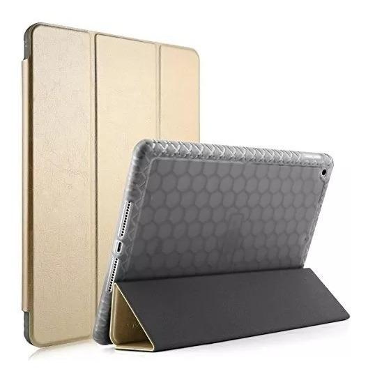 Capa De Couro Para iPad 9.7 Mooke Gold +nf+ Garantia