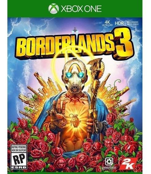Borderlands 3 (xbox One) (midia Fisica - Lacrado)