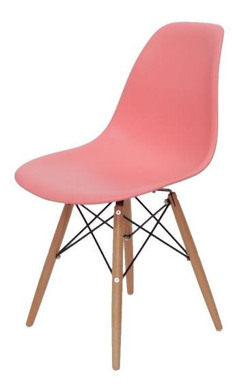 Cadeira Para Penteadeira Escrivaninha Pantone Living Coral