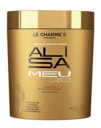 Alisa Meu Cabelo 400g - Máscara De Tratamento - Lé Charme
