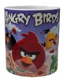 Caneca Angry Birds - Porcelana 300 Ml