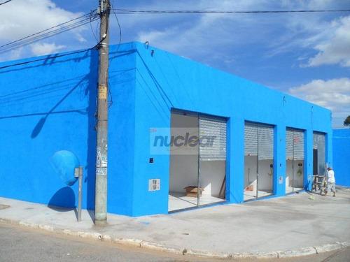 Salão Comercial Para Locação, São Mateus, São Paulo. - Sl0410