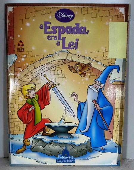 Gibi Hq Disney Espada Era Lei Filmes Clássicos Quadrinhos