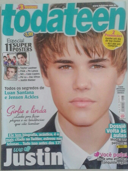 Revista Todateen - Justin Bieber (rara)