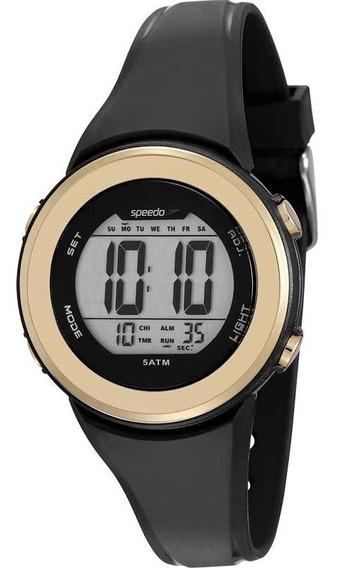 Relógio Feminino Speedo 81152l0evnp1 Digital Preto