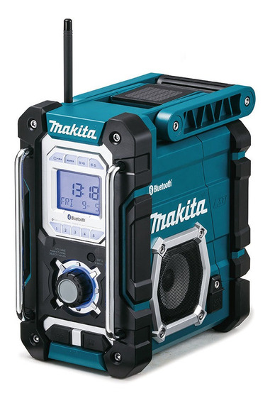Radio Portátil A Bateria Dmr106 Am/fm E Bluetooth Makita
