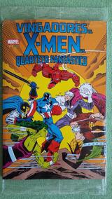Vingadores Vs X-men Vs Quarteto Fantastc Panini