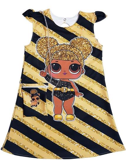 Vestido Lol Para Nenas: Queen Bee 2 Con Cartera De Regalo
