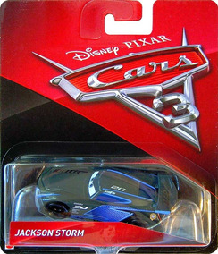 Disney Cars 3 Jackson Storm Mattel Lacrado Mcquenn Carros 3
