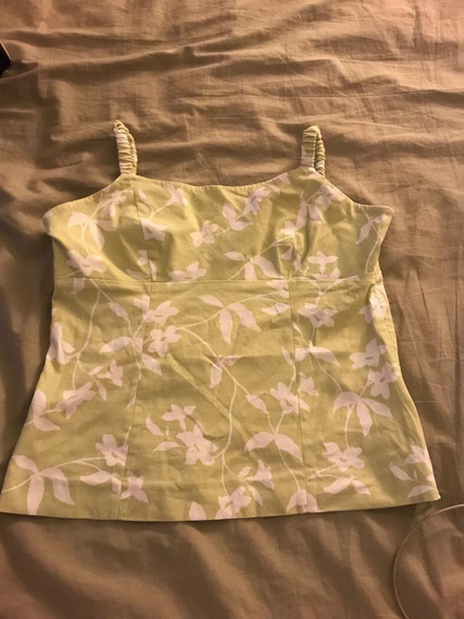 Blusa Floral Shoulder