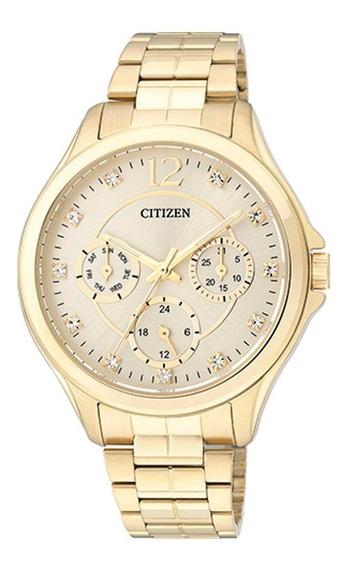 Relógio Citizen Analógico Tz28360g 1 Ano Garantia E Nota F.