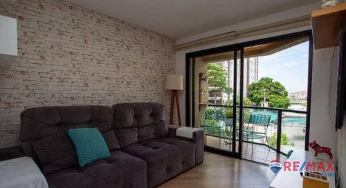 Apartamento Com 1 Dormitório Para Alugar, 79 M² Por R$ 3.600,00/mês - Vila Leopoldina - São Paulo/sp - Ap34254