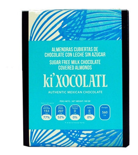 Almendras Cubierta De Chocolate Sin Azucar Leche