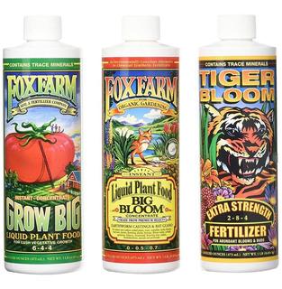 Foxfarm Fórmula Triple De Nutrientes Para La Tierra Original