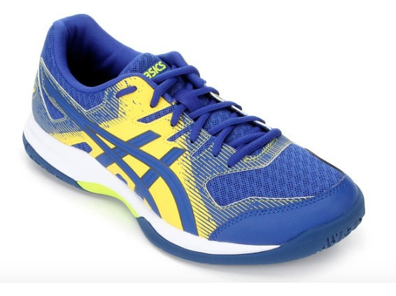 Tênis Asics Gel-rocket 9 - Asics Blue/vibrant Yellow
