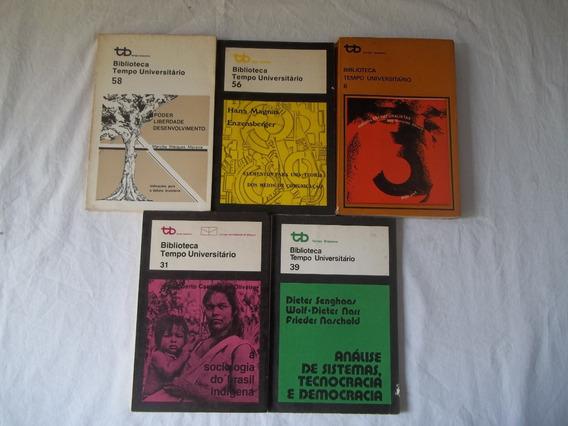Coleção Biblioteca Tempo Universitário Com 5 Titulos