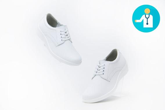Zapatos Comodos Servicio Flexi 32603 Blanco Originales