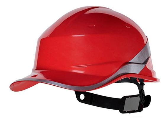 Capacete De Segurança Diamond V Vermelho Baseball