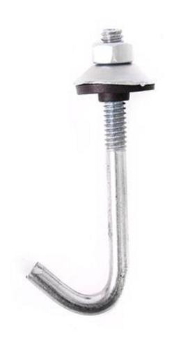 Ganchos Para Techo J 65 X 100 Uni. Completo / Chapa / Cercha