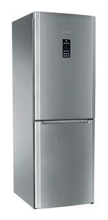 Heladera no frost Ariston ENBF 19122 FW (AG) acero inoxidable con freezer 486L 220V
