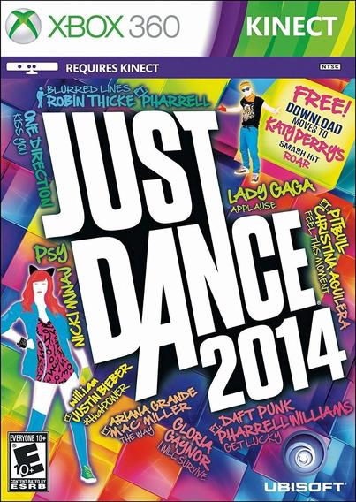 Just Dance 2014 Xbox 360 Original Mídia Física Em Português