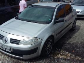 Renault Megane Sedan Dynamique 2009 Prata Flex