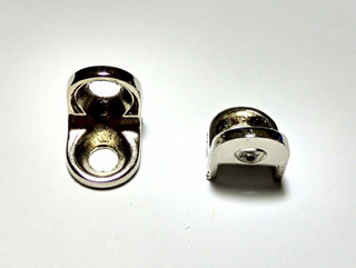 10x Mini Cantoneira Tipo L Para Montagem De Moveis