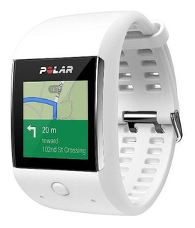 Relógio Monitor Gps Polar M600 - Branco