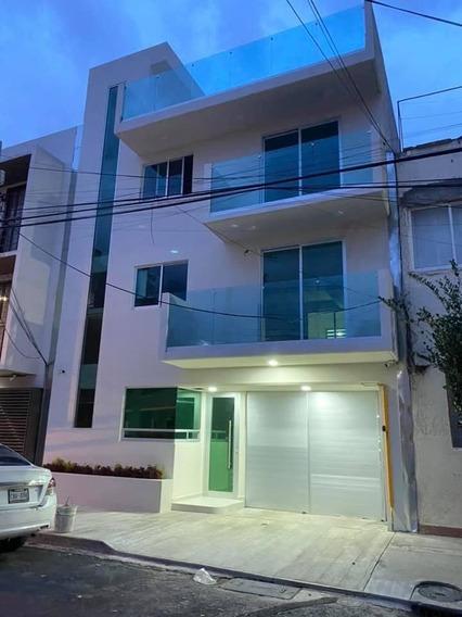 Casa Tipo Townhouse En Renta En Portales Sur Benito Juárez