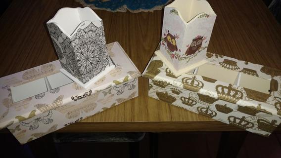 Cajas De Té Decoradas En Decoupage