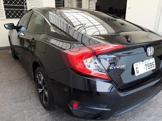 Honda Civic Sport 2017 Automático Única Dona 25.800 Km