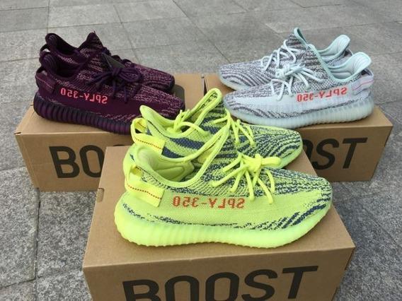 Tenis adidas Yeezy Boost 350 Na Caixa Gaveta