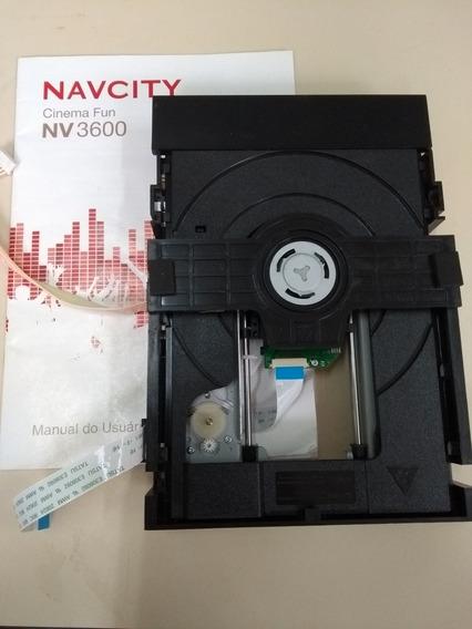 Leitor Dvd Karaoke Navcity Cinema Fun (nv 3600)