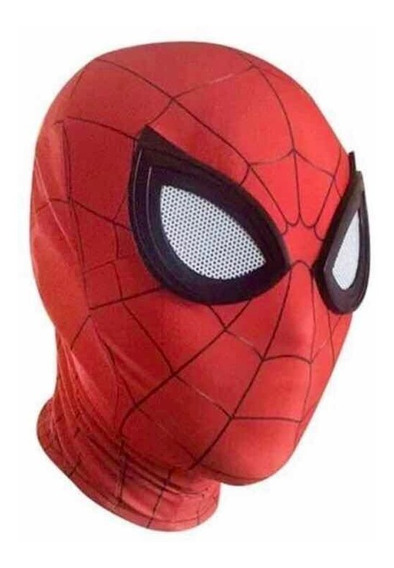 Máscara Cosplay Licra Spiderman Far From Home Homecoming