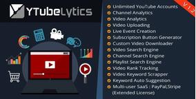 Ytubelytics V1.1 - Youtube Analytics E Software De Marketing