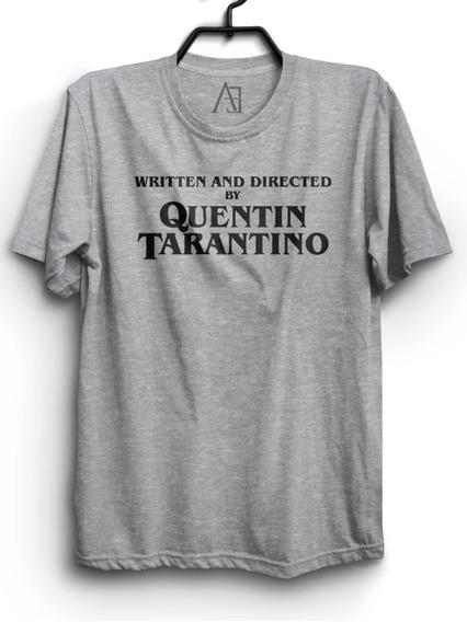 Camiseta Tarantino Camisa Filme Written By Quentin Tarantino