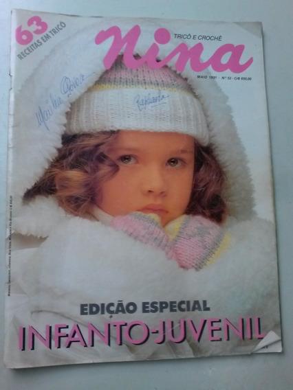 Revista - Nina Tricô E Crochê 52 - Infanto-juvenil Especial