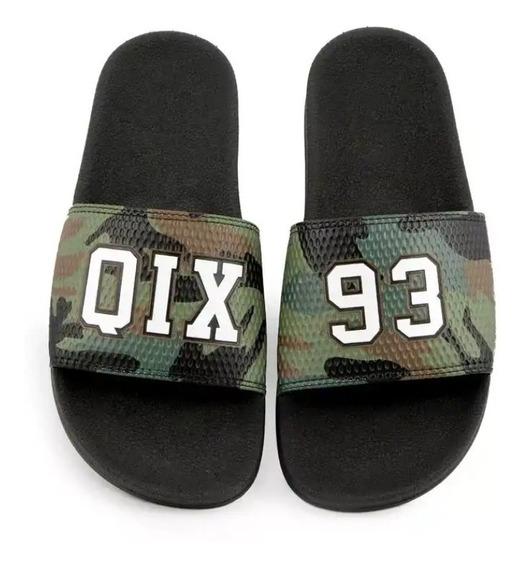 Tenis Chinelo Slide Qix Original Camuflado Top